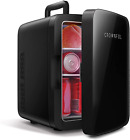 CROWNFUL Mini Fridge, 10 Liter/12 Can Portable Cooler and Warmer Personal Refrig photo