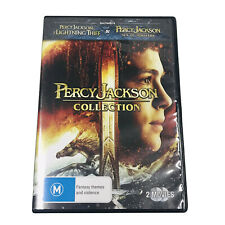 Percy Jackson Collection Lightening Thief Sea of Monsters 2 DVD R4 New/
