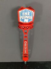 CONEY ISLAND BREWING BEER TAP HANDLE THE PLUNGE POLAR BEAR NEW!