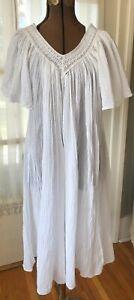 White dress vintage woman summer boho tube sundeck dress