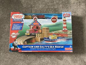 Thomas Trackmaster Captain And Saltys Sea Rescue Rare HTF