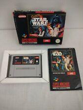 Super Star Wars-Super Nintendo SNES probado y Completo