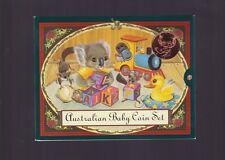 2000 Baby UNC Coin Set Koala Series Australia Birthday Birth Year