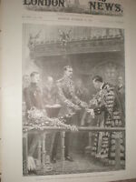 Mayor of London Sword of Honour for Lord Kitchener 1898 old print my ref T