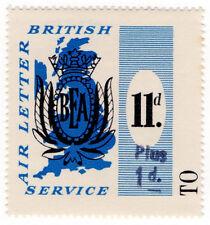 (I. B) Cendrillon Collection: BEA Air Lettre service 12d