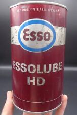 VINTAGE 1970's ESSO ESSOLUBE HD MOTOR OIL IMPERIAL QUART CAN - IMPERIAL OIL