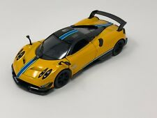 "Kinsmart 5"" Pagani Huayra BC Livery Edition Diecast Model Toy Car 1:38 Yellow"