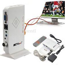 HD 1080P LCD VGA External TV PC BOX Digital Program Tuner Receiver HDTV+Speaker