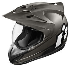 ICON Variant DOUBLE STACK Full-Face Crossover Helmet (Black) Choose Size