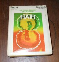 8 Track HAIR (The American Tribal Love-Rock Musical) Broadway Cast Recording