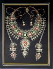 Jewelry Design Painting Of Beautiful Necklace On Paper Handmade Finest Artwork
