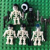 Lego Minifigure Tool Lot Jackhammer Drill Wrench Hammer Screwdriver Axe Shovel