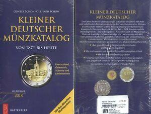 Schön: Kleiner deutscher Münzkatalog 48. Aufl. 2018 NEU Battenberg Verlag