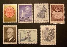 Österreich  -  Marken der Jahre 1966 - 1967        -  postfrisch  **
