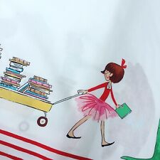 Michael Miller little girl Lola Dutch Sara Jane double border 100% cotton fabric