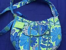 NEW WITH TAGS VERA BRADLEY DISCONTINUED DOODLE DAISY CLARE BAG PURSE
