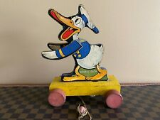 Rare Vintage Fisher Price Dapper Donald Duck #460 - Made in 1936 and 1937 Only