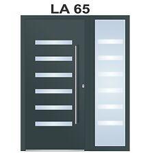Haustür WeltHaus Haustüren WH94  Aluminium mit Kunststoff mit 1 Seitenteil LA65