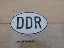 DDR Schild Wartburg QEK Trabant Framo P50 Sachsenring EMW  F8 IFA MZ Barkas