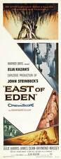 EAST OF EDEN Movie POSTER 14x36 Insert James Dean Julie Harris Richard Davalos