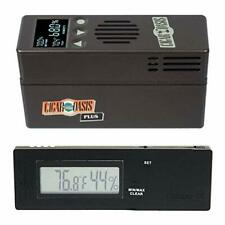 Cigar Oasis Plus 3.0 Electronic Cigar Humidifier with Digital Caliber Hygrometer