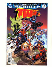 Titans #1 (2016, DC) NM Rebirth 1st Print Arsenal Nightwing Wally West Flash