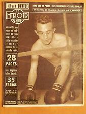 Miroir des Sports 440 du 4/1/1954-Boxe,Un crochet de Bassett,Herbillon au tapis