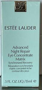 ESTEE LAUDER Advanced Night Repair Eye Concentrate Matrix 0.5 oz NEW & SEALED