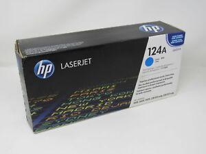 HP Print Cartridge LaserJet Q6001A 124A Cyan Genuine/OEM