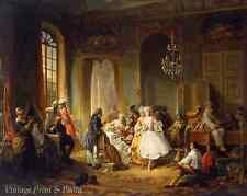 Actors before a Performance by Constant Wauters Fancy Dress 8x10 Art Print 0809