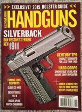 Guns And Ammo Handguns Silverback October November 2015 FREE SHIPPING!