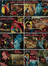 SAMURAI REBELLION Italian fotobusta photobusta movie posters x8 TOSHIRO MIFUNE