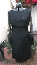 Bill Blass Lace & Silk Confection Party Dress VTG 10 perfection 70s Jackie O