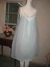 Vintage 50's Nylon Chiffon Babydoll Nightgown Lingerie
