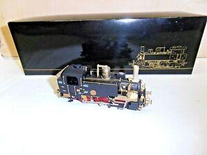 "RIVAROSSI HO BRASS OTTONE LOCOMOTIVA FS ""GR 835-105"" PIERRE BOX ORIGINALE"