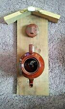 Rustic Colonial Teapot Wall Birdhouse New Bird feeder Free Shipping