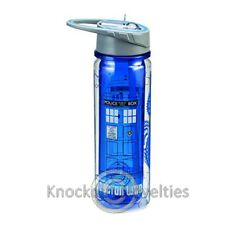 18 Oz. Tritan Water Bottle - Doctor Who Tardis