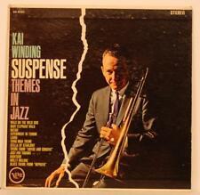 "Kai Winding Suspense Themes in Jazz 7"" EP 33 PS EX 1962 Verve SLV-8493 +Jukes"