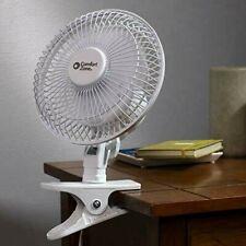 6-Inch 2-Speed Clip-On Fan Portable Personal Desk Breeze Adjustable Electric Fan