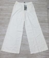 NEW Da-Nang Surplus Women's Flare Pants EGGSHELL CS21964 Size: 2