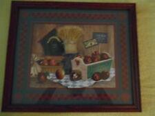 "Fresh Apple Pie Picture Vintage Home Interiors 16 x 13"""