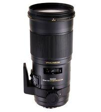 SIGMA 180mm F2.8 APO Macro EX DG OS HSM lens Nikon fit