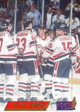 1993-94 Wheeling Thunderbirds #22 Darren Schwartz, Tim Roberts, Jim Bermingham