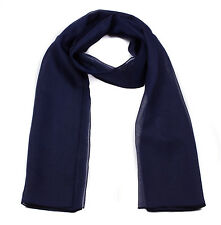 Women Lady Classic Plain Chiffon Scarf Soft Sheer Neck Scarf Shawl Scarves Stole