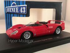 AVENUE43 1/43 DE TOMASO SPORT 5000 ITALY 1966 RED ART.ATC600200