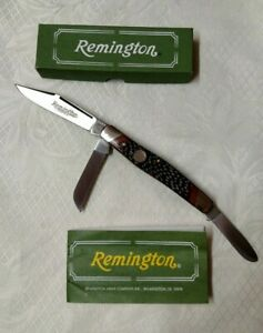 REMINGTON UMC ONE R8 STOCKMAN FOLDING POCKET KNIFE NEW ORIGINAL BOX & PAPERWORK