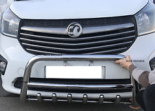 VIVARO, PRIMASTAR ,TRAFIC CHROME BULL BAR AXLE NUDGE BAR 60mm 2014-2017