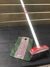 asham scottie curling broom vintage