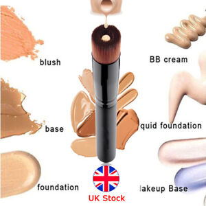 Women Liquid Foundation Brush Real Techniques Kabuki Cream Contour Makeup Face