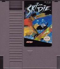 SKI OR DIE ORIGINAL CLASSIC NINTENDO GAME SYSTEM NES HQ
